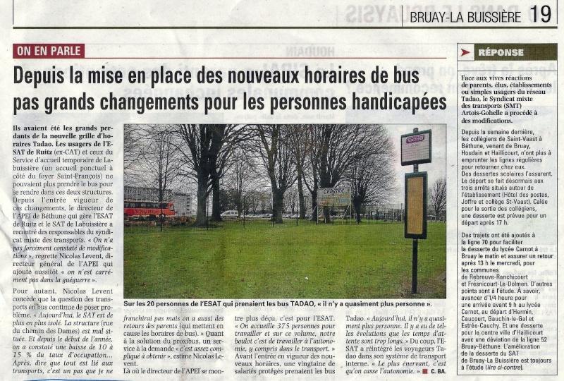 RAMASSAGE SCOLAIRE Place de l'Europe Bus_ta16