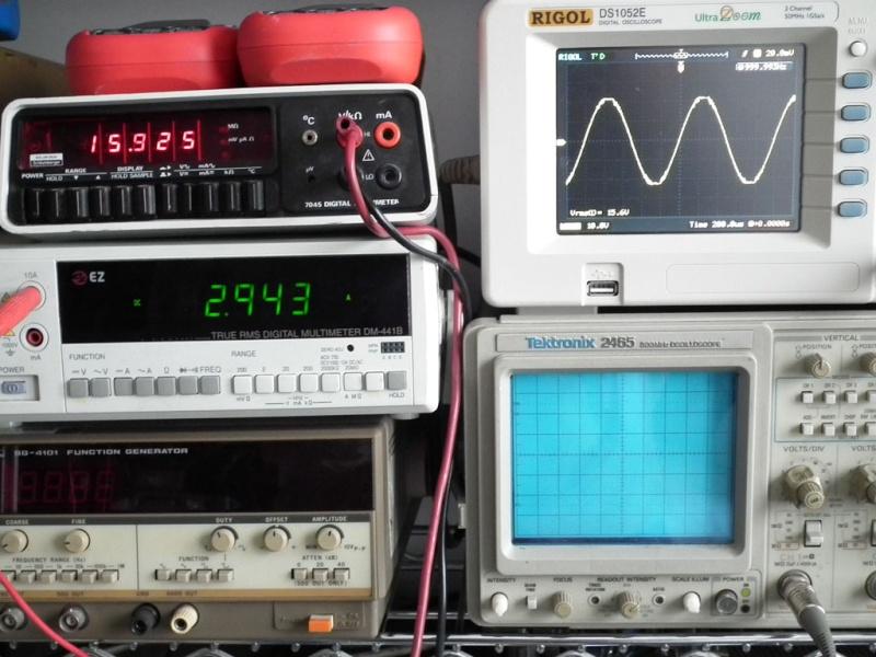 SMSL SA-50 50Wx2 Amplificatore con TDA7492 Misure e grafici Clippi10