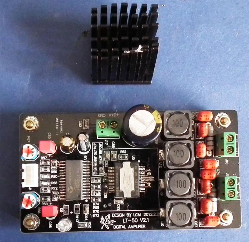 modifiche - Il micro LT-50 TK2050 a 16 Euro su Ebay,  modifiche e considerazioni varie Due10