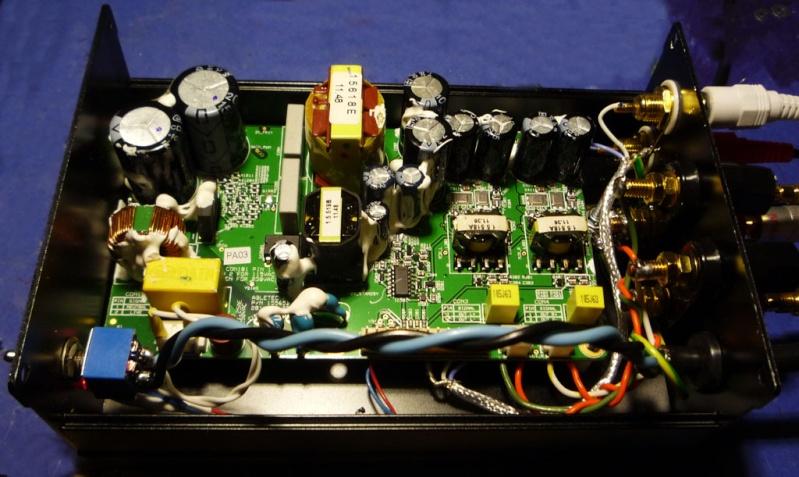 Modulo amplificatore 50+50W 4 Ohm Abletec ALC0100-2300 Test,prove, misure e modifiche Uno11