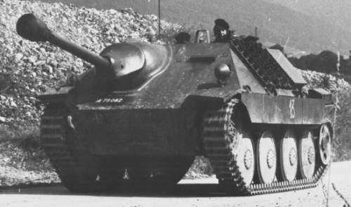 Легкий истребитель танков Хетцер. Hetzer10