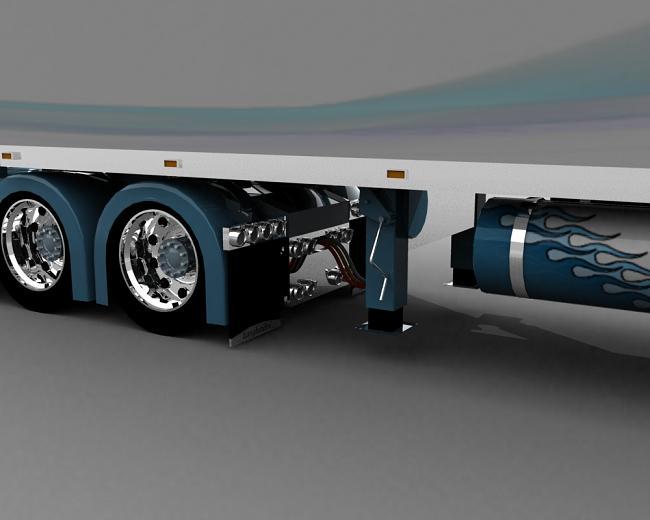 truck 3D Blusil13