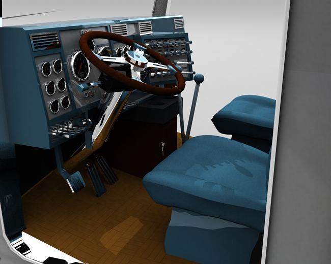 truck 3D Blusil15