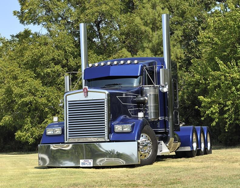 kenworth W900L de Randy Supak Texas. Novcvr11