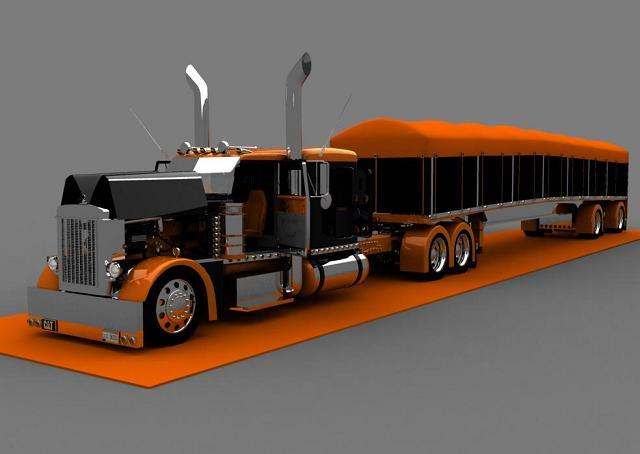 truck 3D Op110