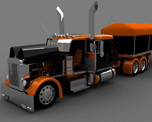 truck 3D Op610