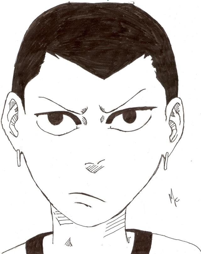 Meus desenhos à mão =D Digita36