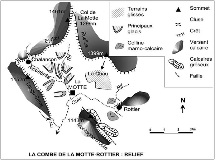 La Motte Chalancon . Carte110