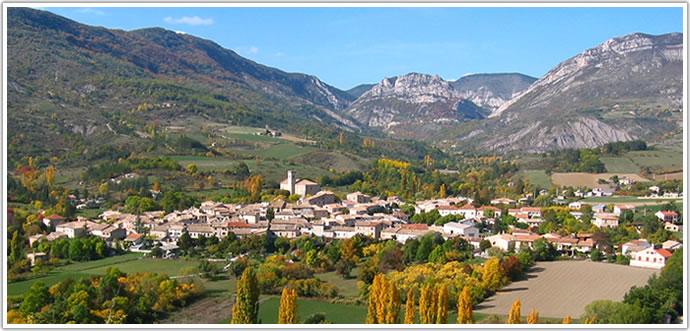 La Motte Chalancon . Le-vil10