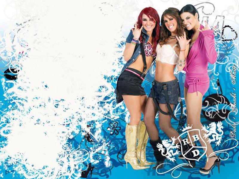 Dulce,Anahi & Mayte