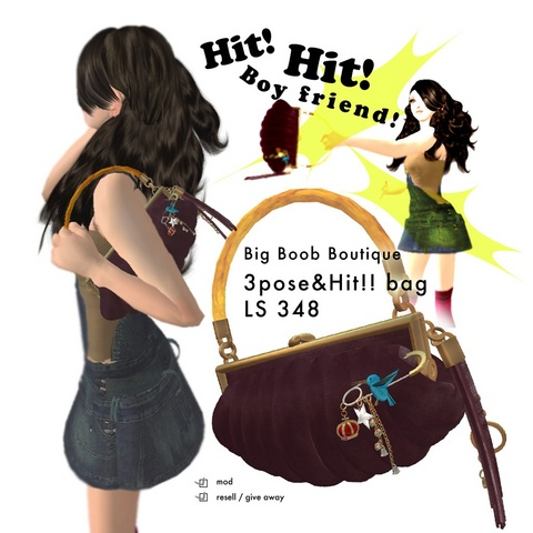 Big boob boutique - Bijoux et sacs à main Mina_110