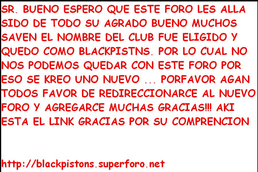 ...:::  Black Pistons :::...