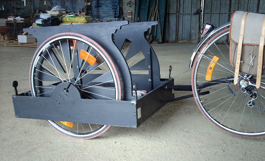 Fabrication de remorque vélo Remorq11