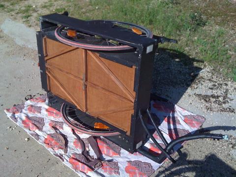 Fabrication de remorque vélo Soutie10