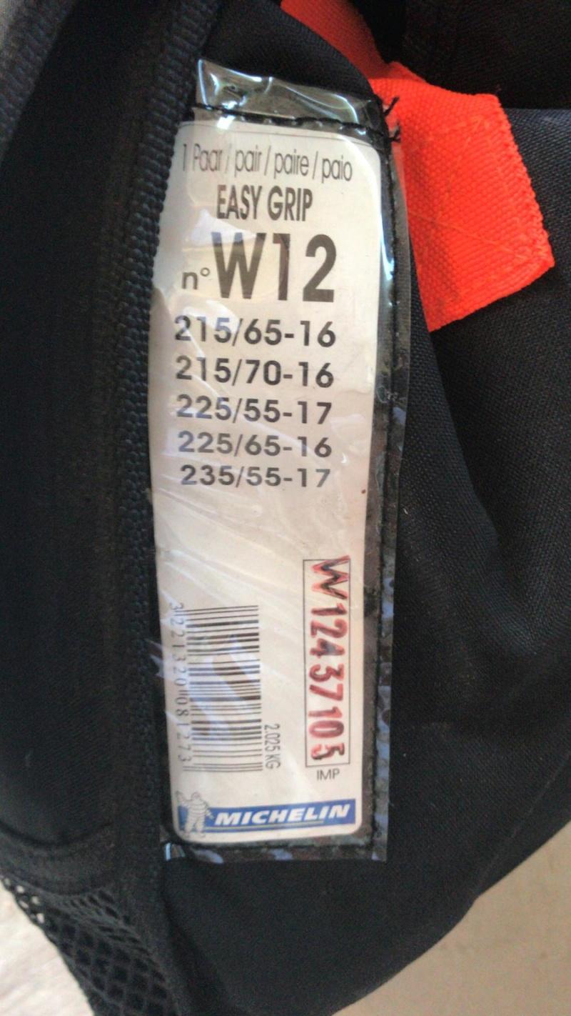 Calze da neve Michelin Easy Grip  A130d210