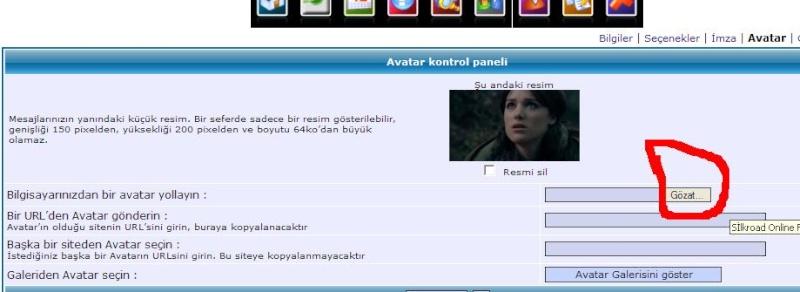 AVATAR EKLEME YARDIM!! RESİMLİ ANLATIM!! 311