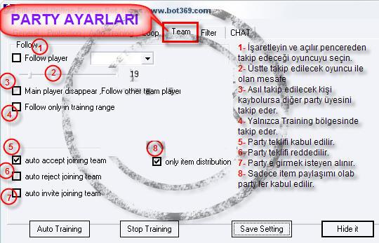 BOT AYARLARI!!! RESİMLİ ANLATIM.. 511