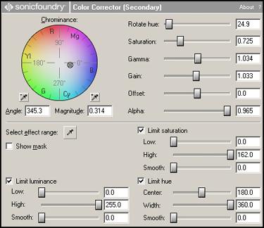 Ajuster la balance des couleurs en partant de plusieurs sources caméras T1710