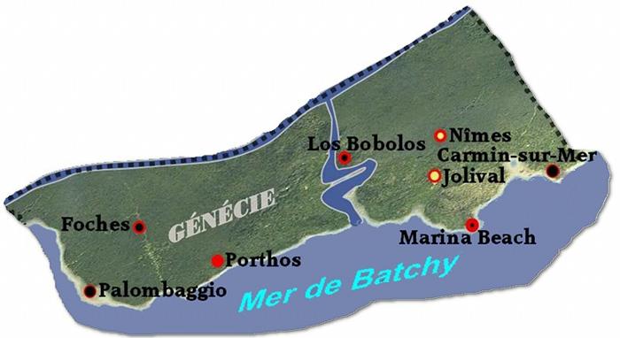 Province de Génécie  Carte10