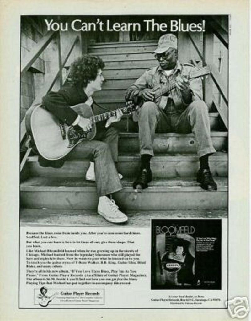 Michael Bloomfield : If You Love This Blues, Play Em As You Please (1976) 76_if_10