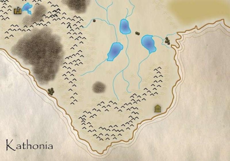 Sketch Map of Kathonia Kathon10