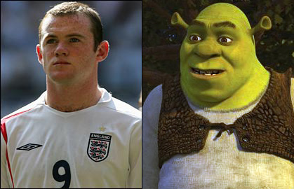 twins - separated at birth? Shrek-10