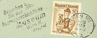 Maschinenwerbestempel von Österreich 00100012