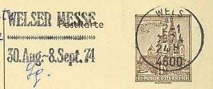 Maschinenwerbestempel von Österreich 00100112