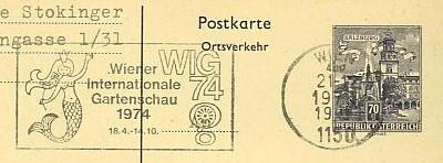 Maschinenwerbestempel von Österreich 00100114