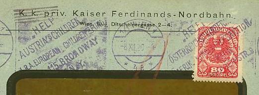 Maschinenwerbestempel von Österreich 00112