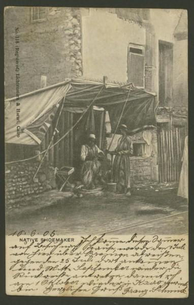 Ägypten   -   Alte Ansichtskarten   /   Menschen bei der Arbeit 00115