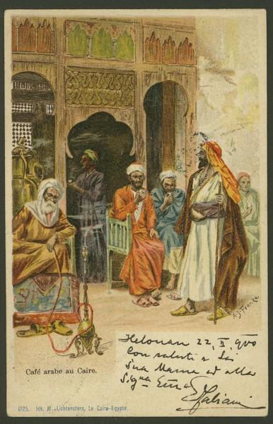 Ägypten  -   Szenen und Typen, Sitten und Gebräuche 00512