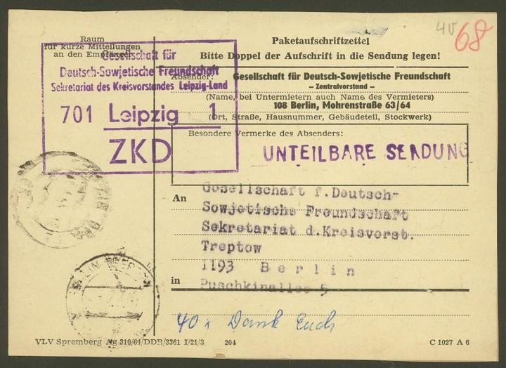 Paketpost DDR 006_zk11