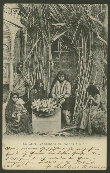 Ägypten   -   Alte Ansichtskarten   /   Menschen bei der Arbeit 00811