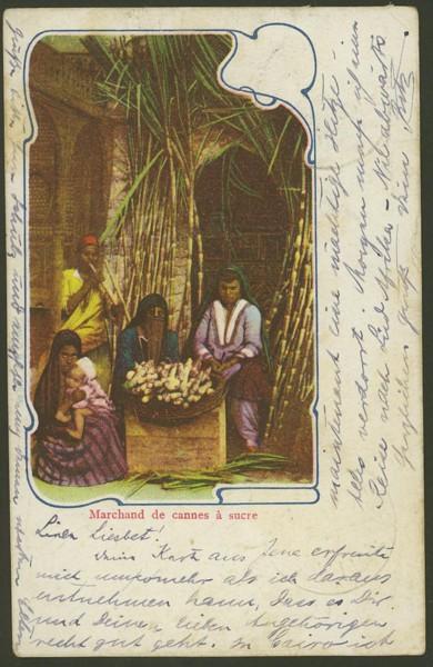 Ägypten   -   Alte Ansichtskarten   /   Menschen bei der Arbeit 00911