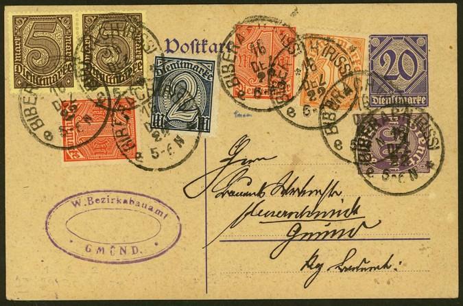 Dienstpost im Deutschen Reich 010_vs10