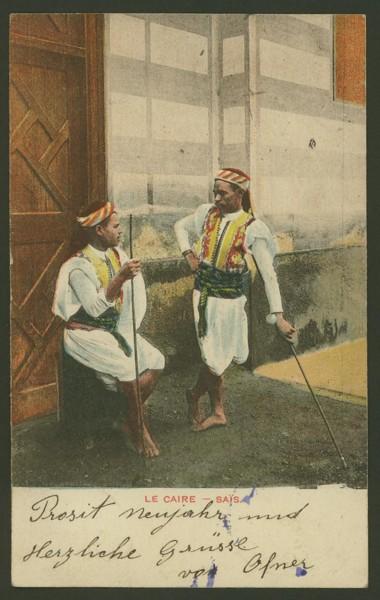 Ägypten  -   Szenen und Typen, Sitten und Gebräuche 01211