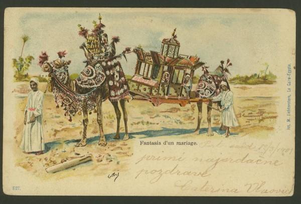 Ägypten  -   Szenen und Typen, Sitten und Gebräuche 01511