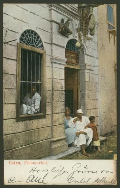 Ägypten  -   Szenen und Typen, Sitten und Gebräuche 01710