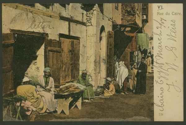Ägypten  -   Szenen und Typen, Sitten und Gebräuche 01810