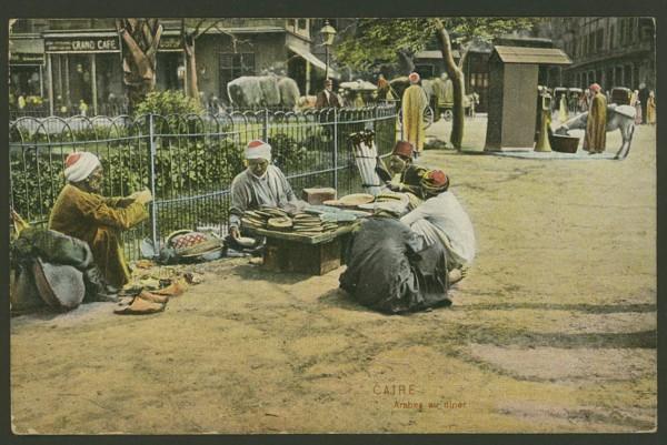 Ägypten  -   Szenen und Typen, Sitten und Gebräuche 01910