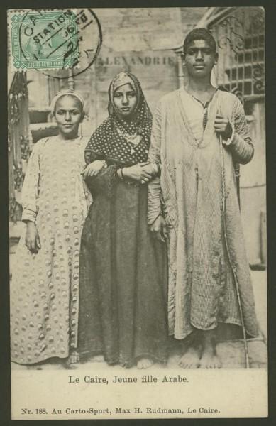 Ägypten  -   Szenen und Typen, Sitten und Gebräuche 02110
