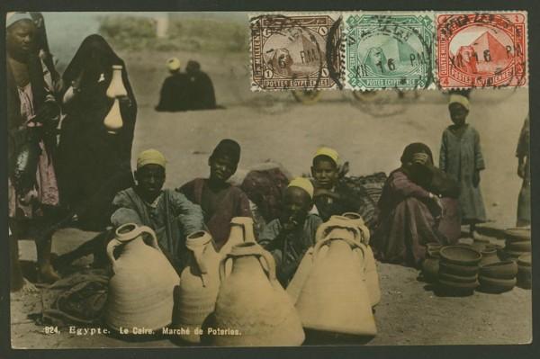 Ägypten   -   Alte Ansichtskarten   /   Menschen bei der Arbeit 02310