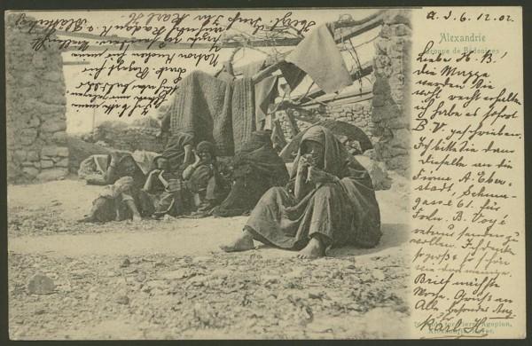 Ägypten  -   Szenen und Typen, Sitten und Gebräuche 02510