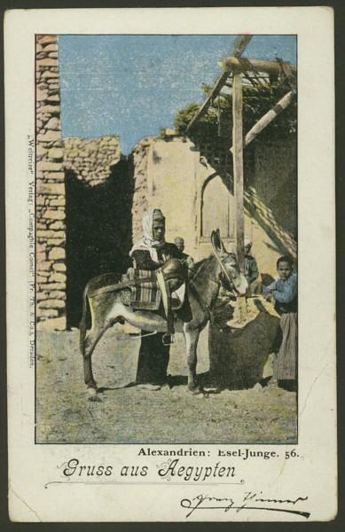 Ägypten   -   Alte Ansichtskarten   /   Menschen bei der Arbeit 02710