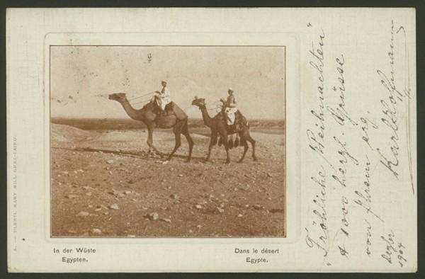 Ägypten  -   Szenen und Typen, Sitten und Gebräuche 03010