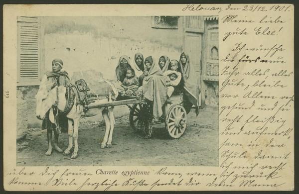 Ägypten  -   Szenen und Typen, Sitten und Gebräuche 03310