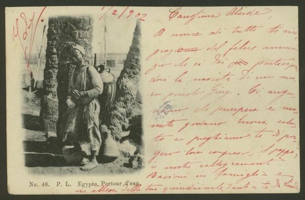 Ägypten   -   Alte Ansichtskarten   /   Menschen bei der Arbeit 03410