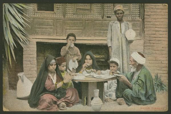Ägypten  -   Szenen und Typen, Sitten und Gebräuche 03510