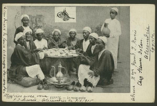 Ägypten  -   Szenen und Typen, Sitten und Gebräuche 03610